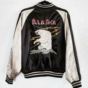 Vintage Japanese Sukajan Alaska souvenir jacket